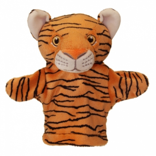 Prima mea papusa de mana Tigru