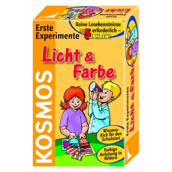 Primele experimente, Lumina si culorile