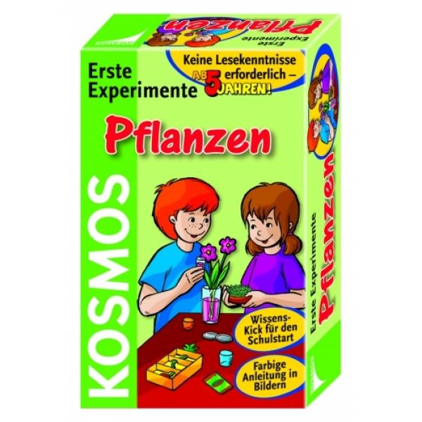 Primele experimente, Plante