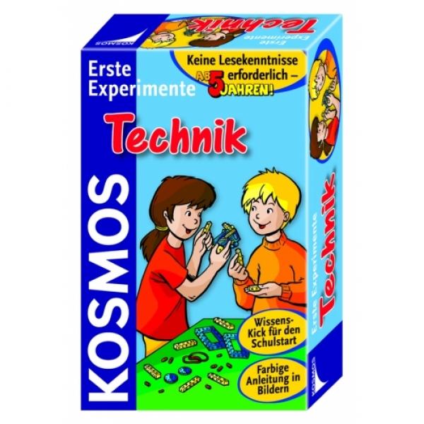Primele experimente, Tehnica