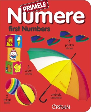 Primele notiuni in romana si engleza: Numerele