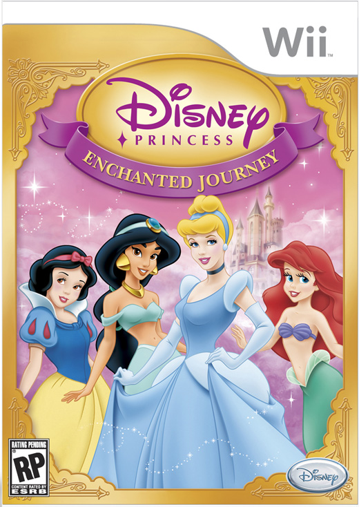 PRINCESS ENCHANTED JOUR WII