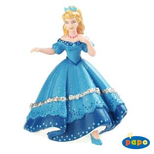 Printesa albastra dansand