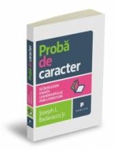 PROBA DE CARACTER