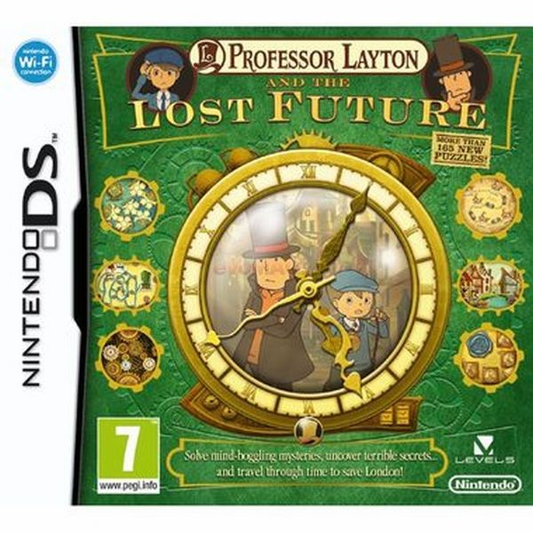 PROFESSOR LAYTON AND THE LOST FUTURE DS
