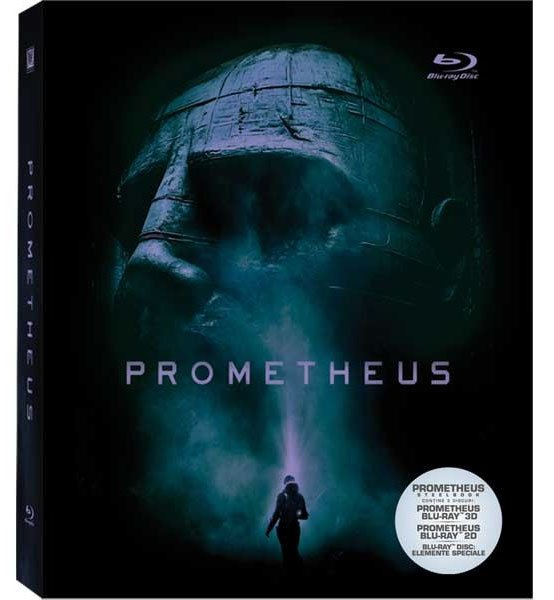 PROMETHEUS 3D (Steel Book - 3 discs)