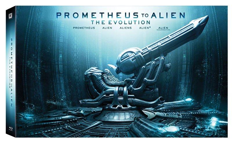 PROMETHEUS TO ALIEN: EVOLUTION BR 9 DISC