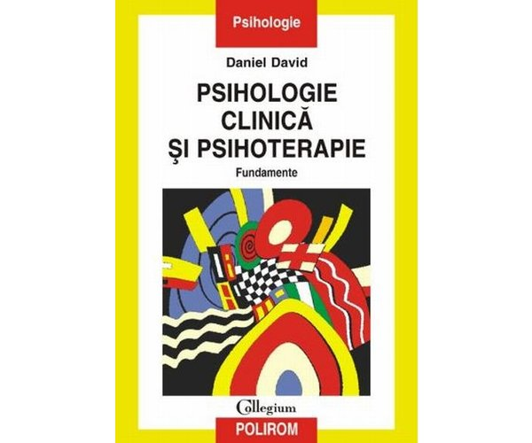PSIHOLOGIE CLINICA SI P SIHOTERAPIE