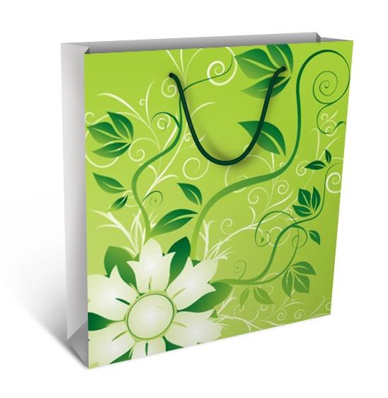Punga de cadou Floare verde
