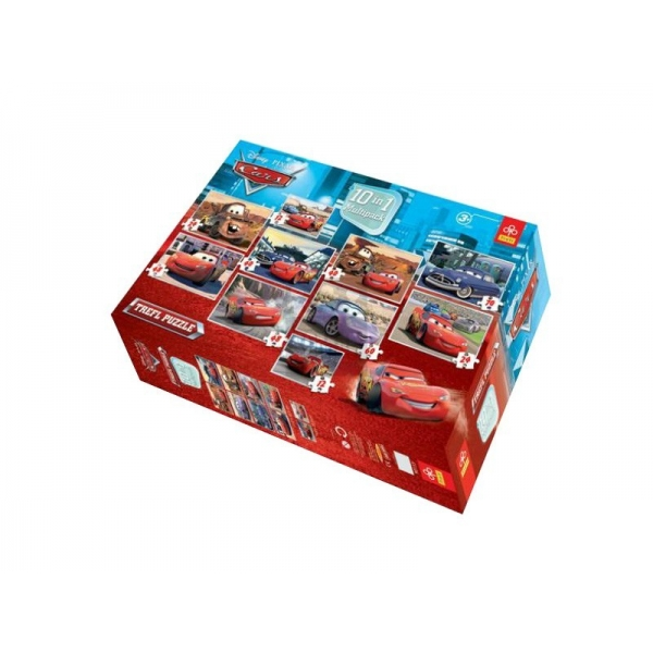 Puzzle 10 in 1 Cars