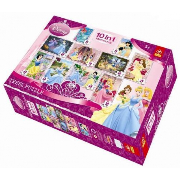 Puzzle 10 in 1 Princess