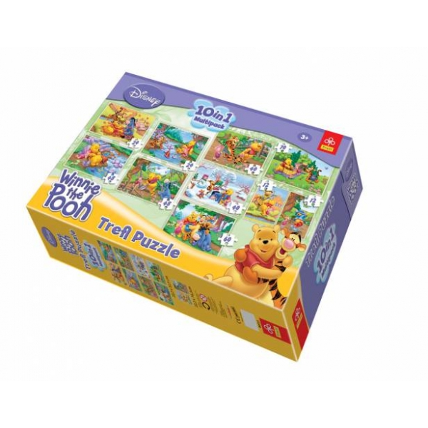 Puzzle 10 in 1 Winnie the Pooh