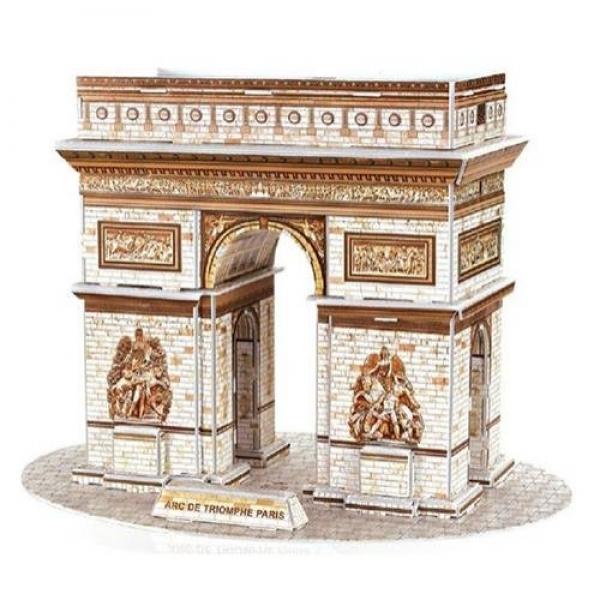Puzzle 3D Arcul de Triumf din Paris, 26 piese