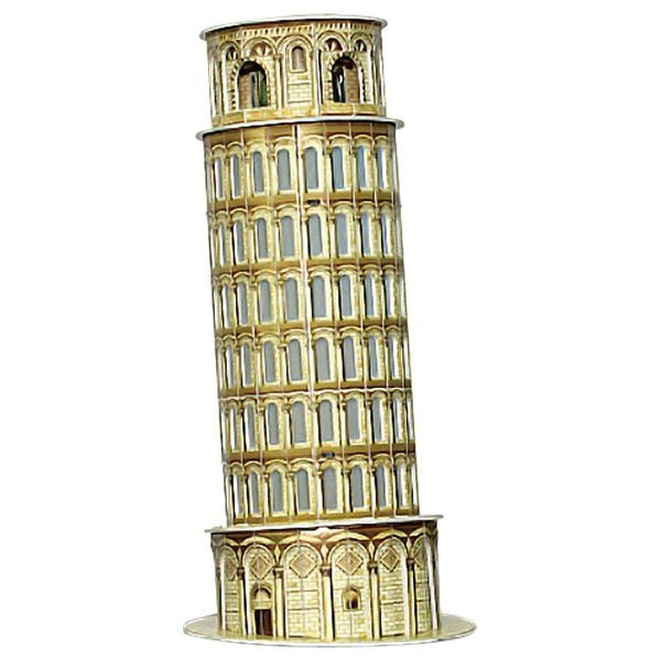 Puzzle 3D Turnul din Pisa, 30 piese