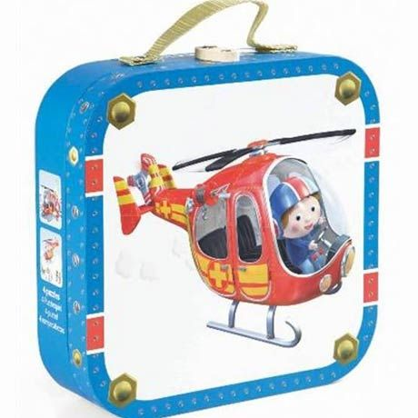 Puzzle 4in1,Elicopterul lui Pierre,Janod