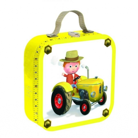 Puzzle 4in1,Tractor