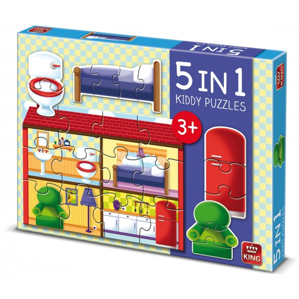 Puzzle 5 in 1 Casa