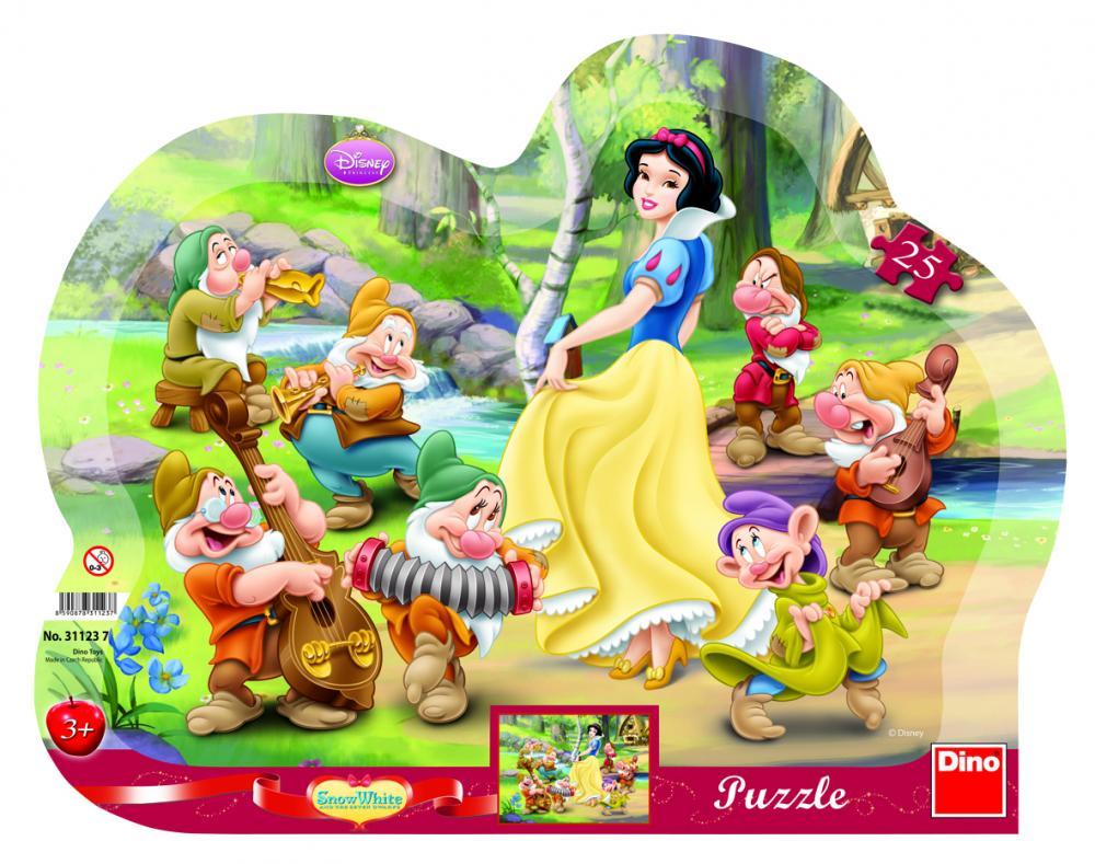 Puzzle Alba ca Zapada, 25 pcs