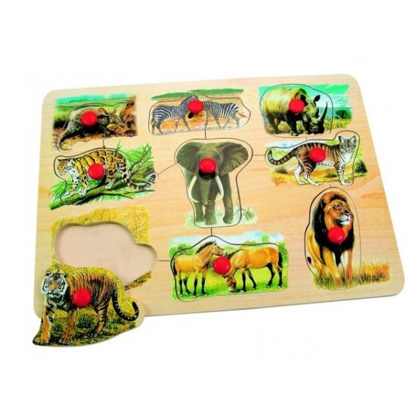 Puzzle Animale din Africa