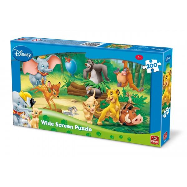 Puzzle Animale Disney, 200 piese
