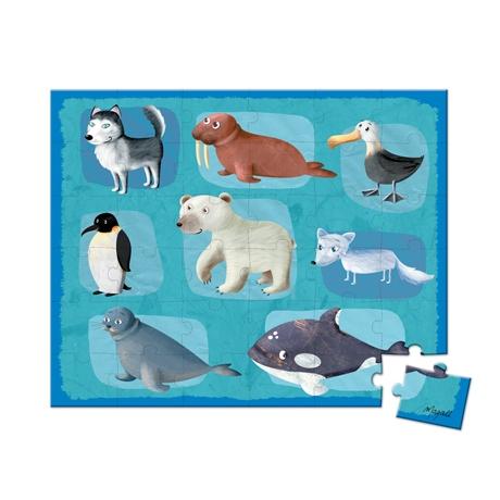 Puzzle Animale polare,36 piese