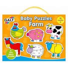 Puzzle Animalele la ferma