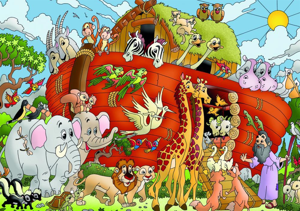 Puzzle Arca lui Noe XL, 100 pcs.