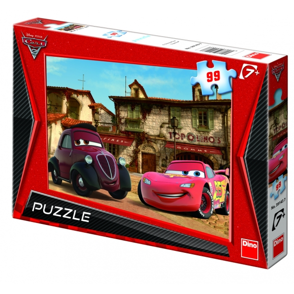 Puzzle Cars 2 - Satul lui Toppolino, 99 pcs.