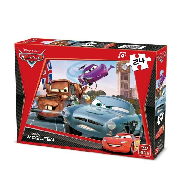 Puzzle Cars, 24 pcs. (2 mod.asort.)