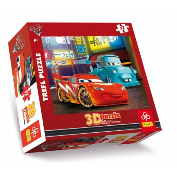 Puzzle Cars 3D-Orasul, 72 pcs.
