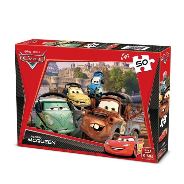 Puzzle Cars, 50 pcs. (2 mod.asort.)