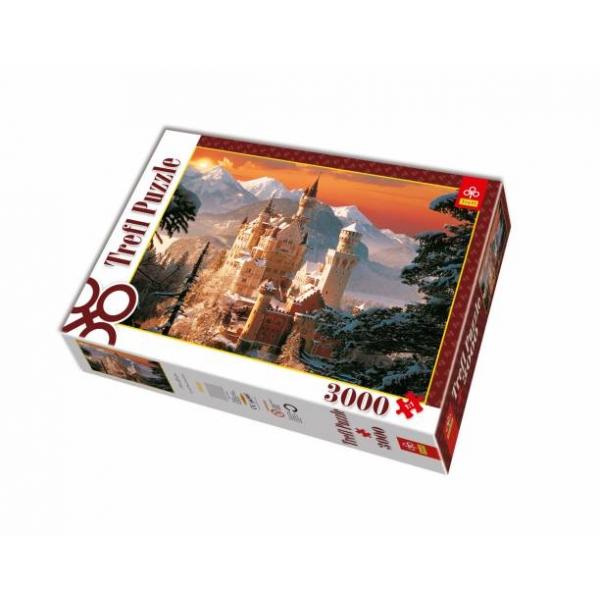 Puzzle Castel in Germania, 3000 pcs.
