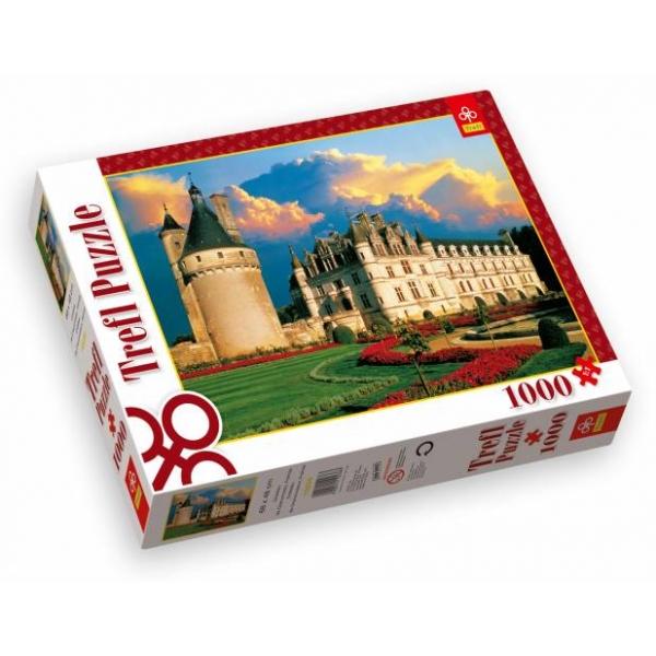 Puzzle castelul Chenonceaux din Franta, 1000 piese