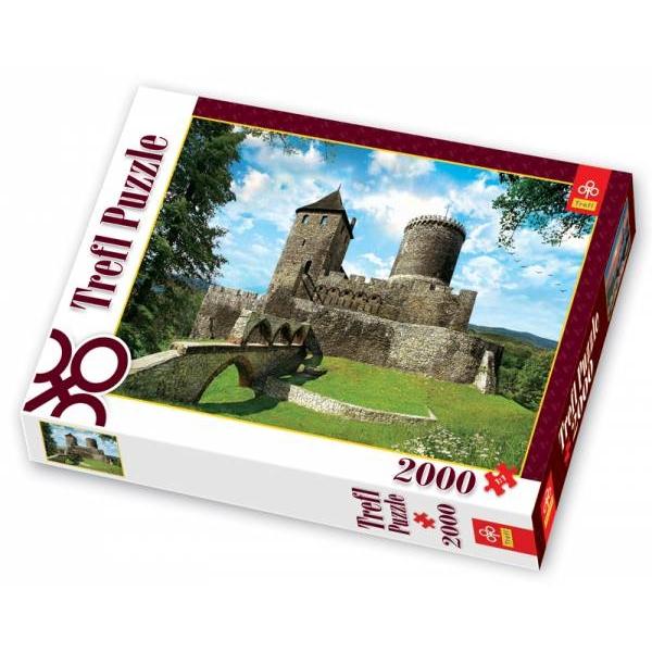Puzzle Castelul din Bedzin, 2000 piese