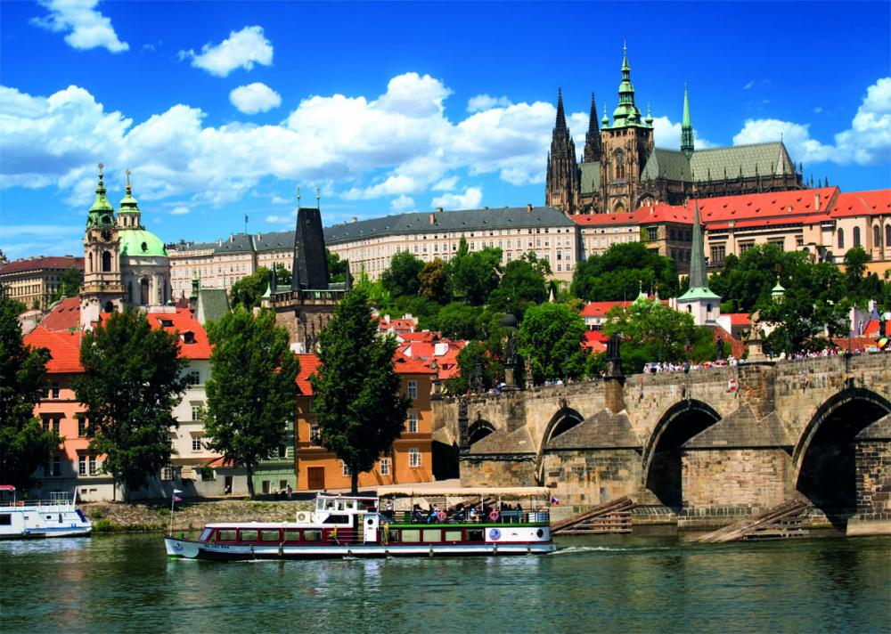 Puzzle Castelul din Praga, 2000 piese