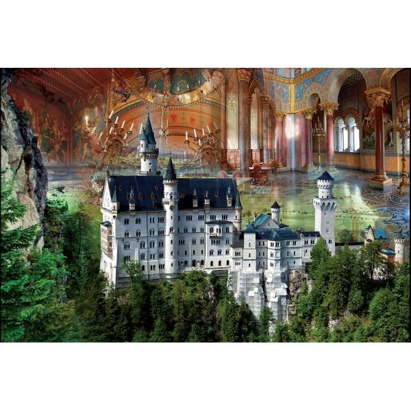 Puzzle Castelul Neuschwanstein,1000 piese