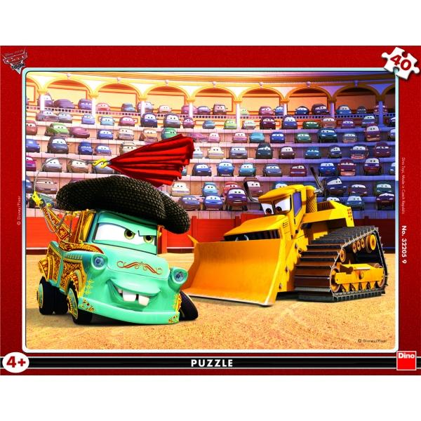 Puzzle contur Cars 2, 40 pcs.