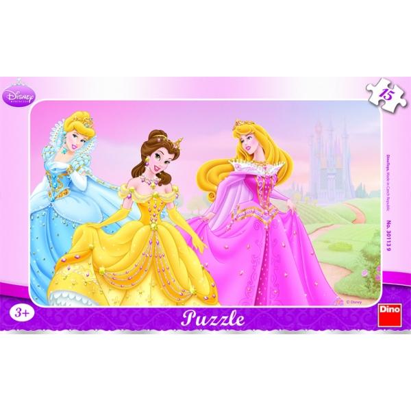 Puzzle contur Princess, 15 pcs.