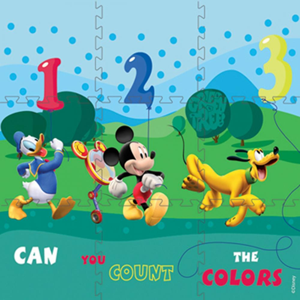 Puzzle covor Mickey Mouse