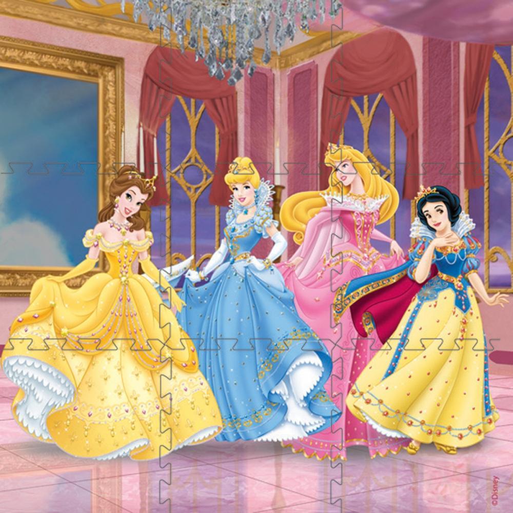 Puzzle covor Princess