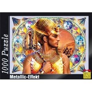 Puzzle cu efect metalic Ramses, 1000 piese