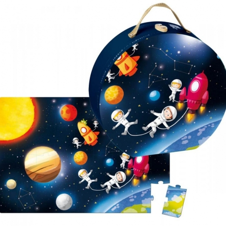 Puzzle de podea Galaxi,36 piese