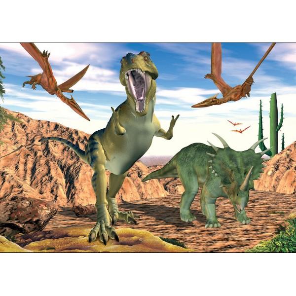 Puzzle Dinozauri, 99 piese