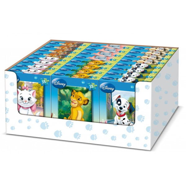 Puzzle Disney Animale, 35 pcs. (6 mod.)