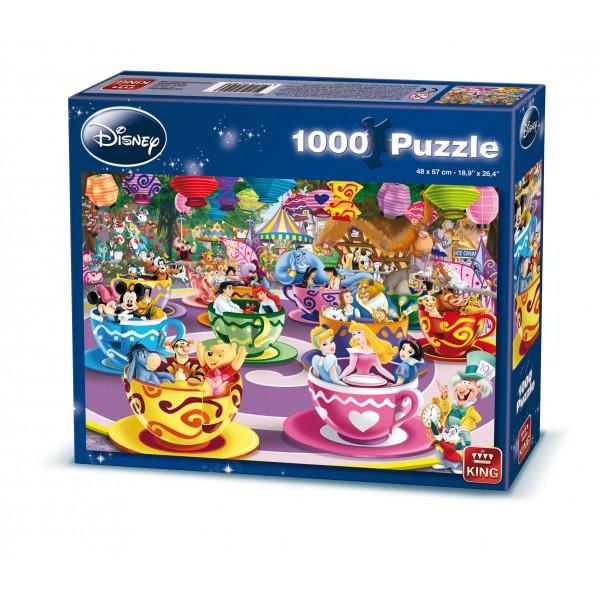 Puzzle Disney Cescute, 1000 pcs.