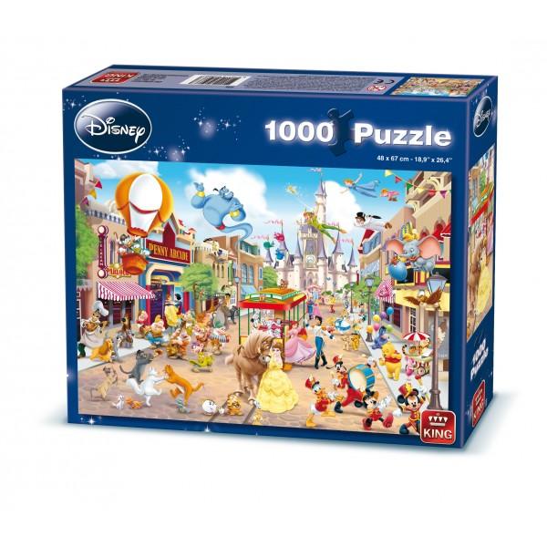 Puzzle Disney Disneyland, 1000 pcs.