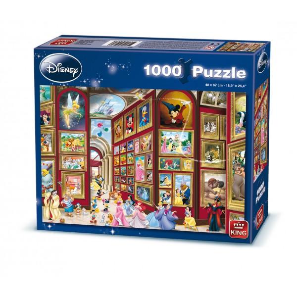 Puzzle Disney Galeria de arta, 1000 pcs.