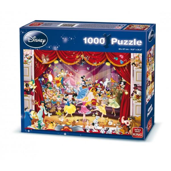 Puzzle Disney La teatru, 1000 pcs.