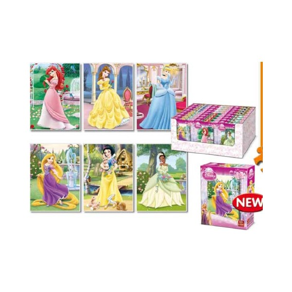 Puzzle Disney Printese, 35 pcs. (6 mod.)