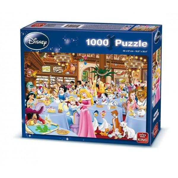 Puzzle Disney Sala de mese, 1000 piese